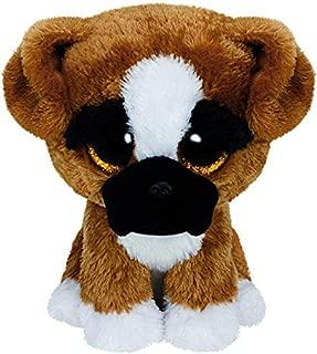 Ty Beanie Boo Plush - Brutus The Boxer Dog 15cm