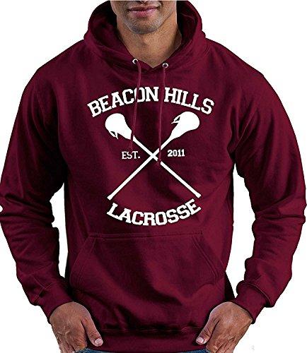 Beacon Hills Lacrosse Hoodie Teen Wolf McCall Stilinski Lahey Unisex Sweatshirt (Stilinski 24, Medium)