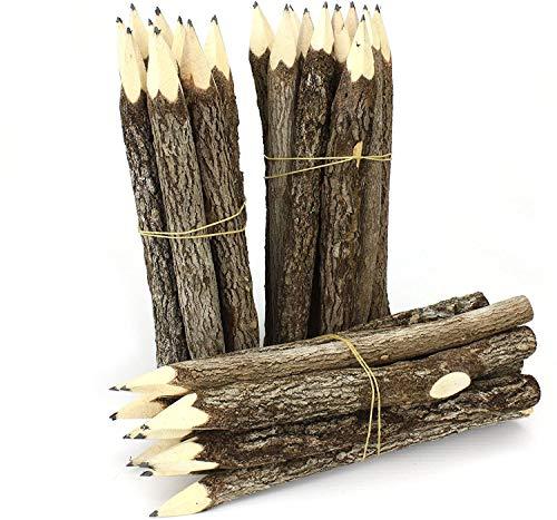 Windhorse Bleistift-Set aus Thailändischen Zweigen, groß, Schwarz, 3 Bündel