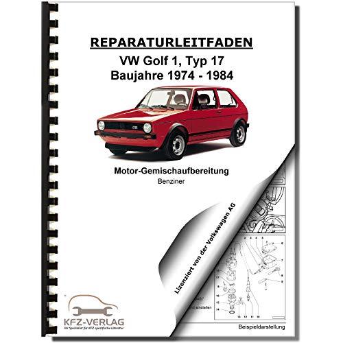 VW Golf 1 Typ 155/17 (74-84) K-Jetronic Zündanlage 1,6l 1,8l Reparaturanleitung