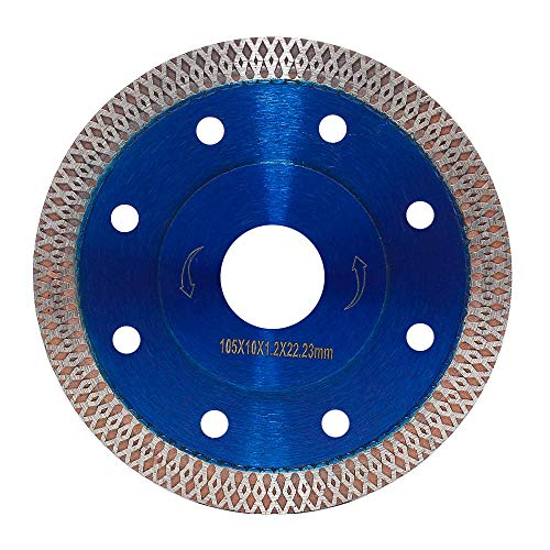 "Diex 4"" Supper Thin Diamond Tile Blade Porcelain Saw Blade for Cutting Porcelain Tile Granite Marbles (4"")"