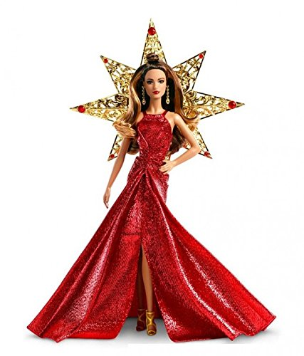 2017 Holiday Teresa Doll, Brunette with Silver Dress