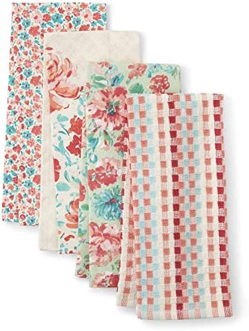 The Pioneer Woman List price Gorgeous Garden Kitchen Towels Popular brand in the world 4 Pack
