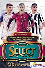 2017/18 Panini Select Soccer EXCLUSIVE Factory Sealed Retail Box with (3) Checkerboard Parallels & (2) Clutch Inserts! Look for Auto's & Parallels of Ronaldo, Messi, Pulisic, Pele, Bale & Many More!