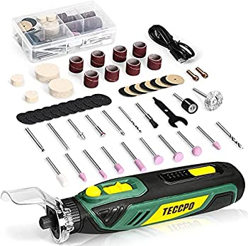 Cordless Rotary Tool 4V Rotary Tool Kit 53 Accessories 5-Variable Speed Electric Rotary Tool Set Crafting Cutting Carving Sanding Polishing Mini USB-C Perfect for Small Projects