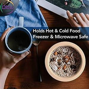 ObuWare Premium Biodegradable Compostable Bagasse Bowls (130pcs 12oz) Eco-Friendly All Natural Sugarcane Fiber | Classy… |