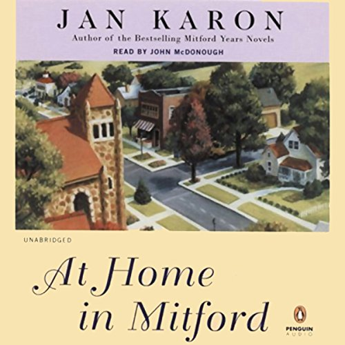 At Home in Mitford audiobook cover art