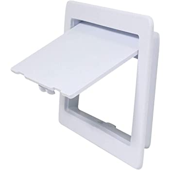 Plumbing Access Panel for Drywall Ceiling 4 x 6 inch Removable Hinged Access Doo