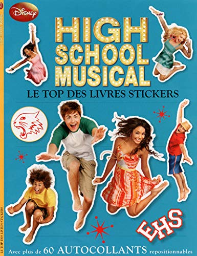 High school musical : Le top des livres stickers