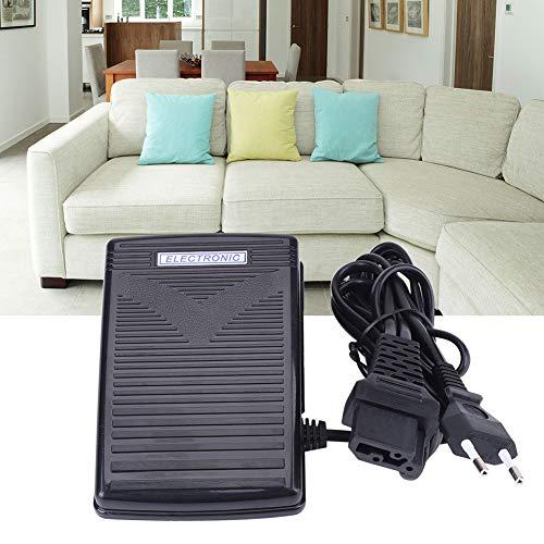 【Regalo de Abril】 Enchufe de la UE 200-240V Pedal de Control de pie para máquina de Coser doméstica con Cable de alimentación, Duradero