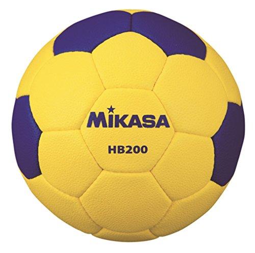 ミカサ ハンドボール 検定球2号 屋外用 黄/青 HB200