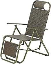 High-quality recliner Recliners, Armchairs, Chairs Zero Gravity Table For Deck Chairs Folding Chair Recliners For Outdoor Use (Color : Green)
