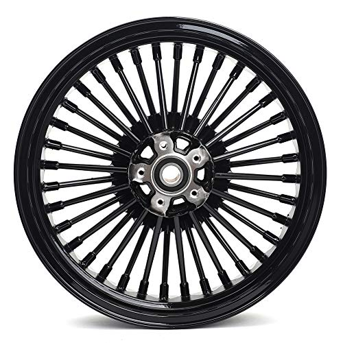 TARAZON 21X3.5 36 Fat Spoke Front Tubeless Wheel for Harley 2009-2020 Touring models Road Glide Ultra Limited