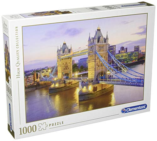 Clementoni - 39022 Collection Puzzle - Tower Bridge - 1000 Pezzi, Puzzle Adulti