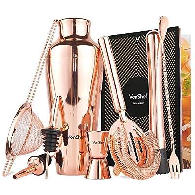Copper Parisian Coctail Sets