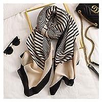 冬のスカーフ 2020 女性スカーフファッション印刷コットン春の冬の暖かいスカーフヒジャーブの女性バンダナ格子縞 (Farbe : 43)