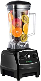 WantJoin Professional Blender, Countertop Blender ,Blender for kitchen 2200W High Power Home and Commercial Blender with Built-in Timer, Smoothie Maker 2200ml for Crushing Ice, Frozen Dessert, Soup,fish Blender Professional Countertop Blender, 2200W High Speed Smoothie Blender/Mixer for Shakes and Smoothies, commercial blender Crusing Ice, Frozen Desser with Timer, 68OZ BPA-Free Tritan Jar, Smoothie Maker Grey BATEERUN (Size1) Food Processor Combo FOCHEA Smoothie Shake Blender,700W Powerful Mixer Blender/Chopper/Grinder with Portable 570ml BPA-Free Bottle, Easy to Use and Clean Hilax Blenders for Making Smoothies Shakes - 1000W High-Speed Professional Personal Blender,Fruit Juice Mixer High Speed Blender, 2-Set Blades,35oz and 14oz Portable Travel Blender Bottles,BPA Free Countertop Blender Professional Commercial Mixer Blender 70oz with 2200 Watt Base,Total Crushing Technology for Smoothies, Ice and Frozen Fruit (Black)