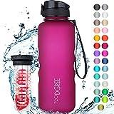 "720°DGREE Water Bottle ""uberBottle"" - 1.5 L - With Fruit-Infuser, BPA-Free Tritan, Leakproof"