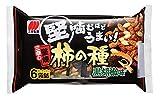 三幸製菓 三幸の堅焼柿の種 黒胡椒味 182g ×4袋