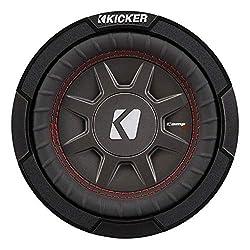 top rated 6.75 inch kicker CompRT single shallow slim car subwoofer, maximum. 300 W, 2 ohms 2021