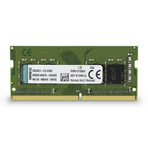 Kingston KVR21S15S8/4 Arbeitsspeicher 4GB (SO-DIMM, DDR4-2133, 260-polig)