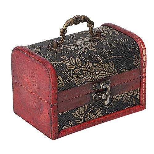 Schmuck Aufbewahrungsbox, Vintage Schmuck Spind, Holz Schmuckschatulle, Schmuck Vitrine, zur Aufbewahrung von Schmuck