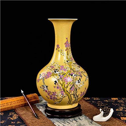 Vaas decoratie Jingdezhen Keramiek antieke vaas Chinese stijl Floor Vase Gifts Home Decoration Arts and Crafts, 8,10 (Color : 4)