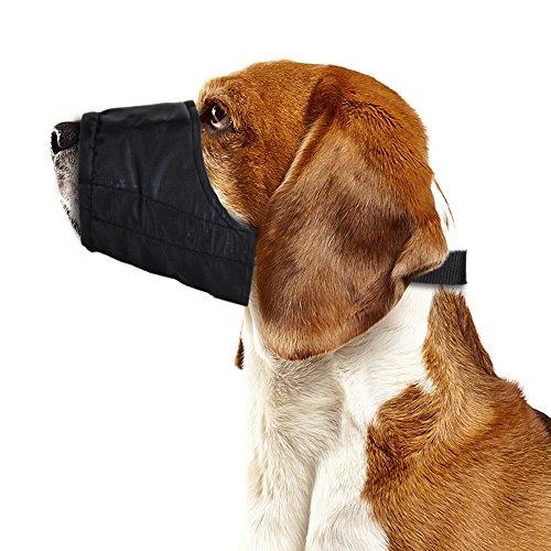 Weebo Pets Sicherheits-Maulkorb aus atmungsaktivem Nylon, Größe S