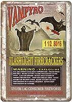 Vampyro Firework Package ティンサイン ポスター ン サイン プレート ブリキ看板 ホーム バーために