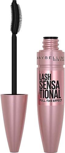 Maybelline Lash Sensational Full Fan Effect Mascara - Blackest Black,9.5ml