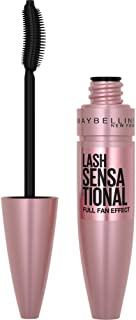 Maybelline Lash Sensational Washable Mascara, Blackest Black, 0.32 fl; Oz; (Packaging May Vary)