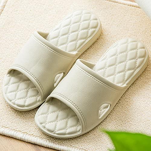 ypyrhh Sandalias De Ducha de Casa,Sleepy Ultra-Soft Slippers, odorless and Sweep-Card_43-44,Sandalias de Punta Descubierta Unisex niños