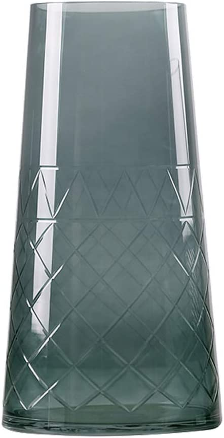 jiji Flower Vase Modern Minimalist Max 61% OFF Gradient Lowest price challenge Thread Glass Li