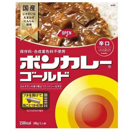 大塚食品 ボンカレーゴールド辛口180g