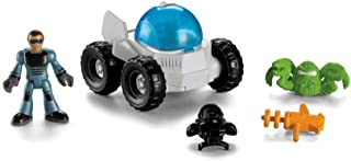 Imaginext Space Station Shuttle Accessory - Moon Rover Vehicle & Mini Figure by Fisher-Price