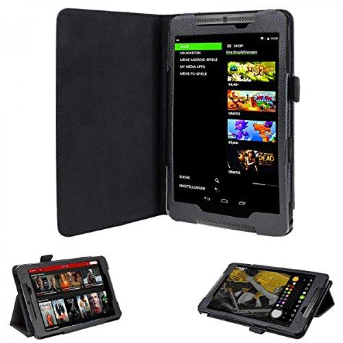 shield tablet eFabrik Custodia per Nvidia Shield Tablet Borsa Protettiva a Similpelle Colore Nero