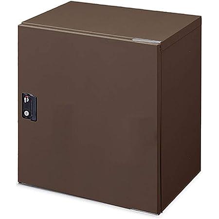 アイリスオーヤマ 宅配ボックス 97L 鍵付き 防滴 選べる左右開き 戸建て用 アパート 置き配 Lサイズ TBK-L ブラウン 別売り据置台あり