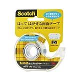 3M スコッチ はってはがせる両面テープ 19mm×10m ディスペンサー付 667-1-19D