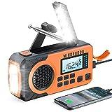 Emergency Radio 5000mAh,WinDrogon NOAA...