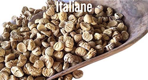 CASTAGNE SECCHE ITALIANE 2X250G., PRODOTTE IN PIEMONTE, ESSICCATE A LEGNA