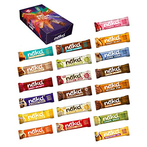 Nakd Mixed Case Selections (Elija su favorito (20 barras))