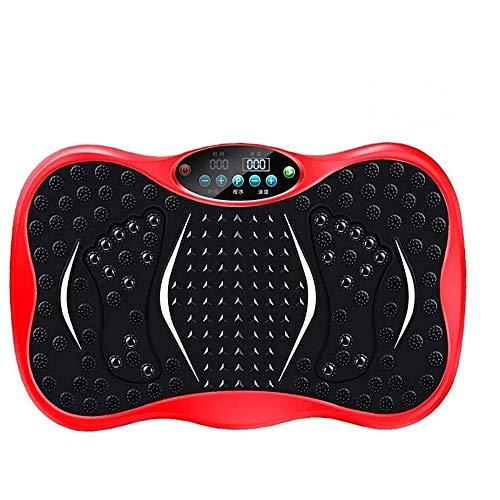 Plataforma Vibratoria Ultra Slim Vibra Disco máquina de fitness, Whole Body Fitness Plataforma Máquinas de ejercicios con el lazo de la talladora del cuerpo, utilizado for el entrenamiento de inicio y