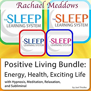 Positive Living Bundle: Energy, Health, Exciting Life audiobook cover art