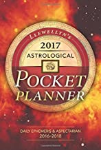 Llewellyn's 2017 Astrological Pocket Planner: Daily Ephemeris & Aspectarian 2016-2018