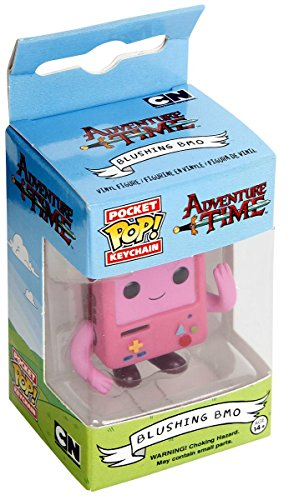 Funko - Adventure Time-Pink Blushing BMO - Llavero de color rosa, 7729