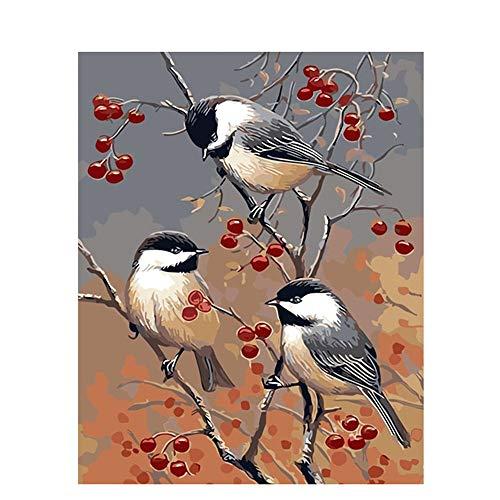 WACYDSD Puzzle 1000 Piezas Sala De Estar, Flores, Pájaros. Juego De Rompecabezas Clásico Bricolaje Juguete De Madera Decoración para El Hogar