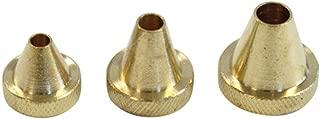 Birchwood Casey Muzzle Guard Set 17 to 30 Caliber 3 Piece Brass