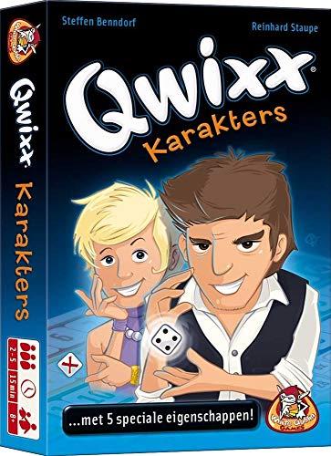 Unbekannt White Goblin Games Würfelspiel Qwixx: Charaktere
