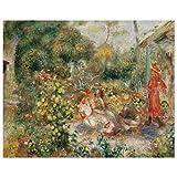 JUNIWORDS Poster, Pierre Auguste Renoir, Mädchen in einem