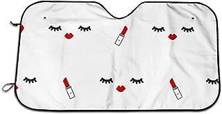 fingww Parasole per La Parabrezza Anteriore Farfalla Colorata Monarca Farfalle Sfumature E Ombre Protezione UV per Auto Parabrezza Parasole Parasole Schermo Solare Parasole Finestra Ante